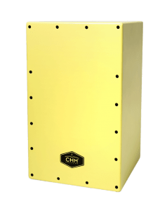 cajon flamenco chm rumba amarillo